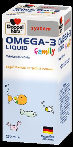 omega-3 liquid family